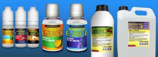 E-juice, nicotine-free e cigg liquid
