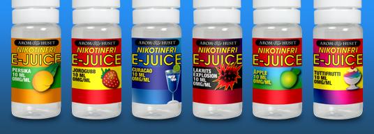 Nicotine Free E-liquid 10 ml